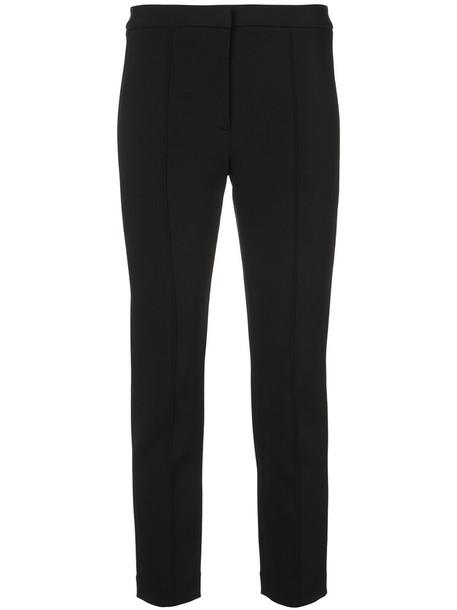 Adam Lippes cropped women spandex black pants