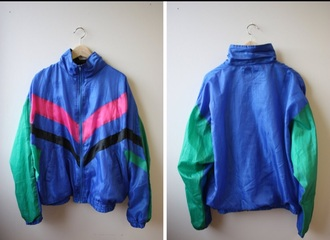 jacket 90s style windbreaker men's menswear