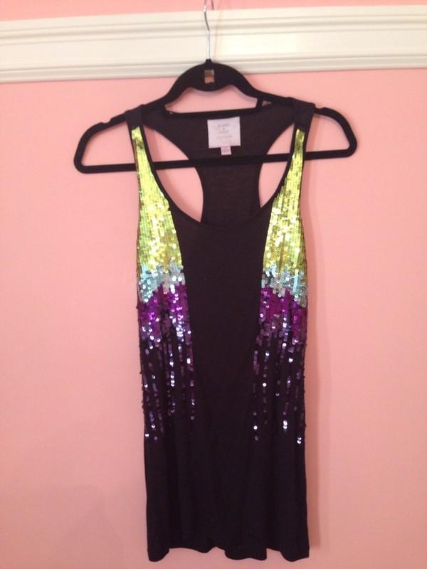 shirt sequins gorgeous hot sexy beautiful cute pretty black purple summer girly sequins sparkle sparkle glitter glitter vogue tumblr instagram