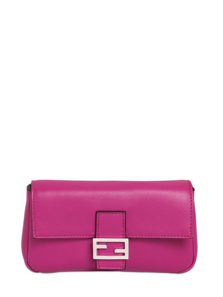 Fendi bag leather bag leather