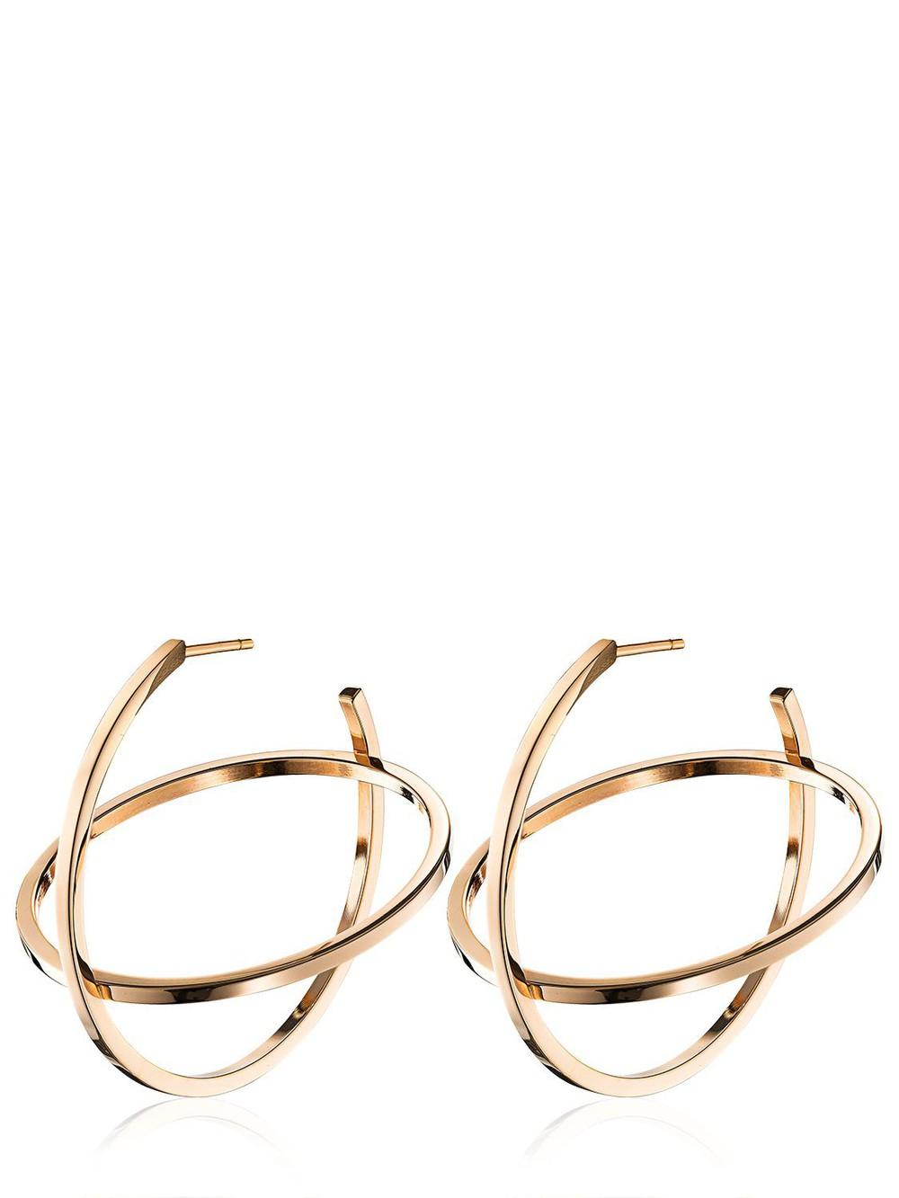 VITA FEDE Atlas Earrings in gold / rose