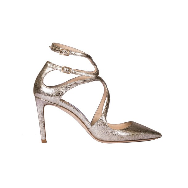 Jimmy Choo sandals gold silver shoes