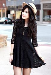 flashes of style,black dress,dress