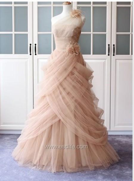 dress pink dress chiffon