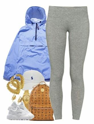 leggings shoes nike coat baby blue blue light blue jacket raincoat tommy hilfiger windbreaker windbreaker