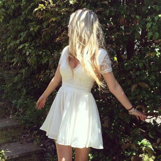 dress white dress boho vintage indie indie boho hippie