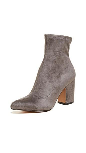 Steven heel booties grey shoes