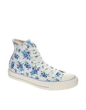 best service great prices exclusive shoes Converse | Converse All Star Floral High Top Trainers at ASOS