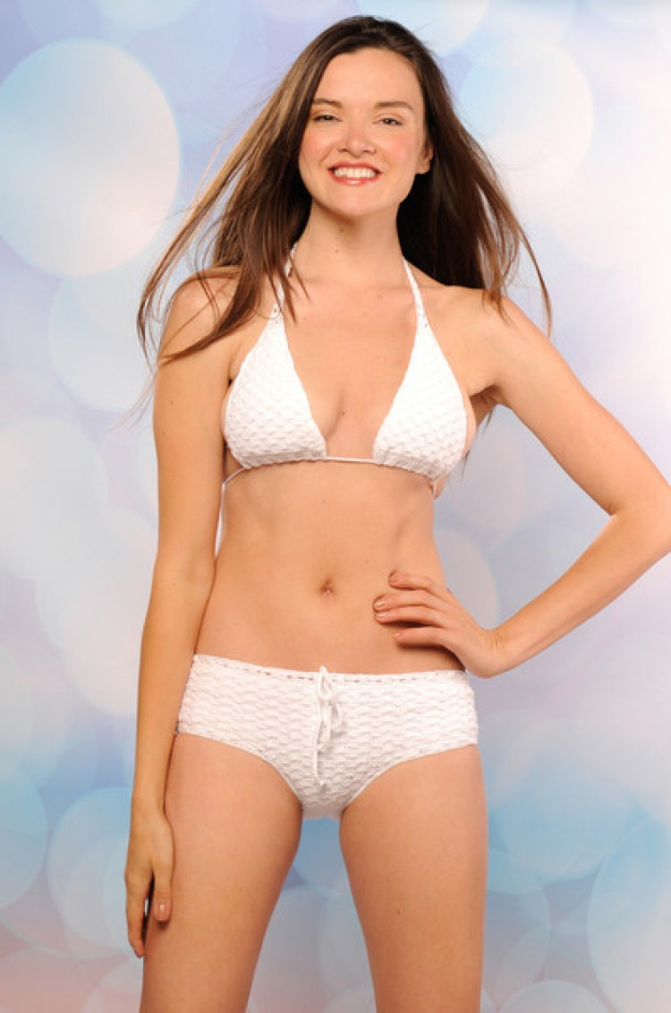 Beauty and the Beach-Cheeky Bikini Bottom White | ShopMiamiStyle