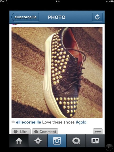 shoes studs leather snake skin flatforms sneakers