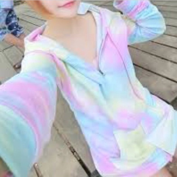 sweater colorful colorful kawaii cute pretty cute sweater kawaii sweater colorful sweater pretty sweater