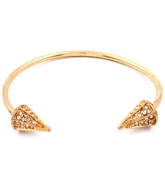 jewels cone bangle rhinestone