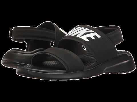 Nike Tanjun Sandal Black/Black/White - Zappos.com Free Shipping BOTH Ways