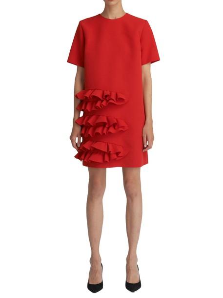 MSGM dress red