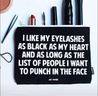 bag needinmylife black makeup bag