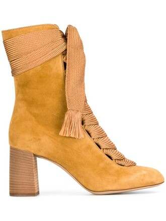 boots ankle boots nude shoes