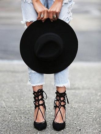 shoes black shoes rose wholesale black black heels strappy heels fashion heels sandals high heels high heel sandals denim summer