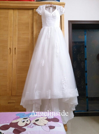 vintage wedding dress vintage lace wedding dress short sleeve wedding dress v neck wedding dress