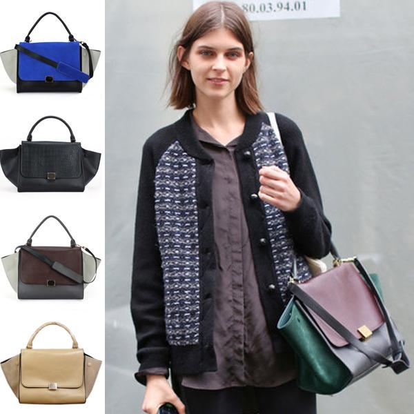 New Womens Shoulder Bag Bat Style Handbag Tote Hobo Retro Hit Color Mixed BP1022   eBay