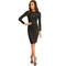 Khloe dress in black – noodz boutique