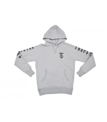 TS Team hoodie (grey) - Hoodies  | Trapstar