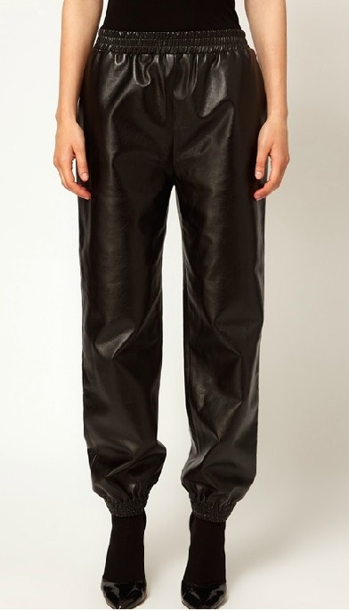 Leather Joggers  / The SugarBaby Shop