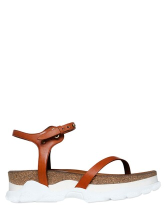 sandals leather sandals leather tan shoes