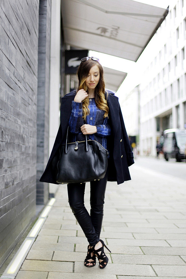 flirting with fashion blogger shoes bag sunglasses coat sweater pants