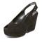 Robert clergerie wedge sandals - black