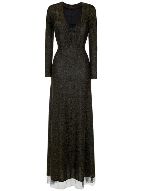 gown women black dress