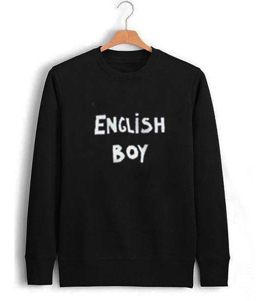 english boy Unisex Sweatshirts
