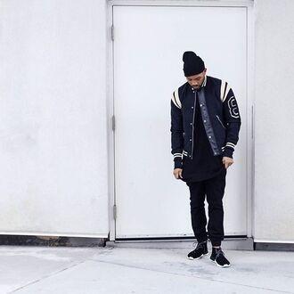 jacket maniere de voir varsity jacket trendy fashion style menswear casual kanye west 36683