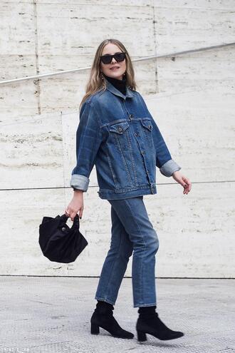 trini blogger jacket jeans shoes jewels bag