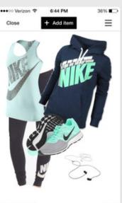 shoes,sweater,hoodie,navy blue sweater,nike,blue hoodie,nike running shoes,nike sweater,nike shoes,blue shirt,black sweater,black top,leggings,tights,black pants,mint and navy nike sweatshirtrt,mint,nike mintgreen,grey,nike sneakers,black,diamond supply co.,burgundy