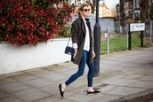 camille over the rainbow,jeans,coat,shirt,sweater,shoes,jewels,sunglasses