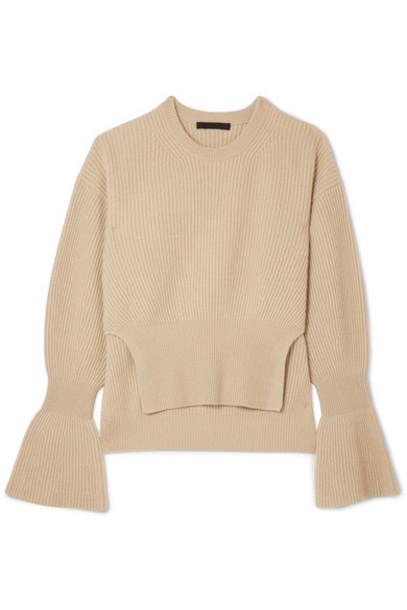 Alexander Wang sweater knit beige