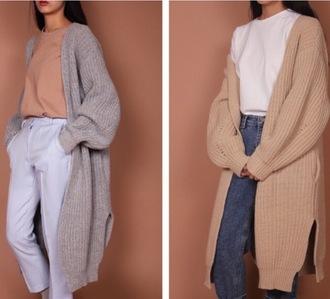 cardigan sweater oversized oversized cardigan