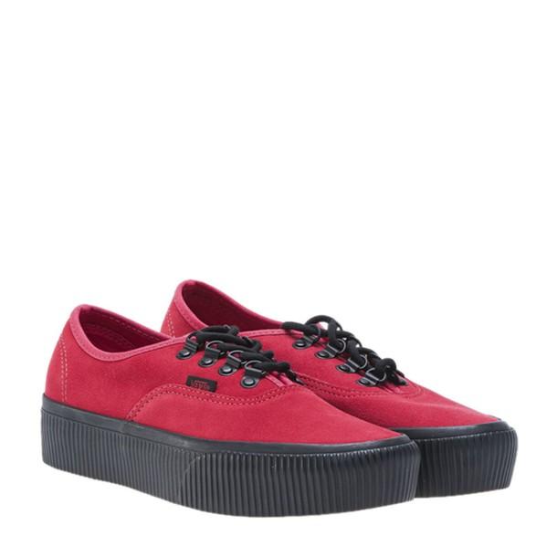 VANS old school shoes red