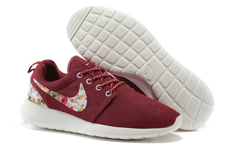shoes nike roshe run floral red nike roshe run floral