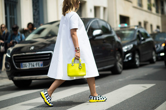 shoes streetstyle yellow yellow shoes spring shoes