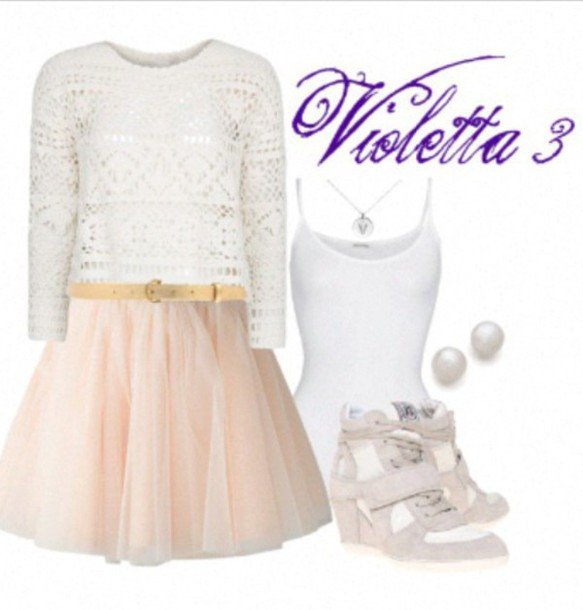 Shoes White Sneakers Violetta Wheretoget
