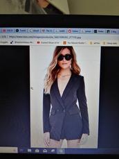 dress,black,romper,blazer