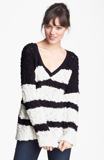 Free People 'Songbird' Stripe Pullover | Nordstrom
