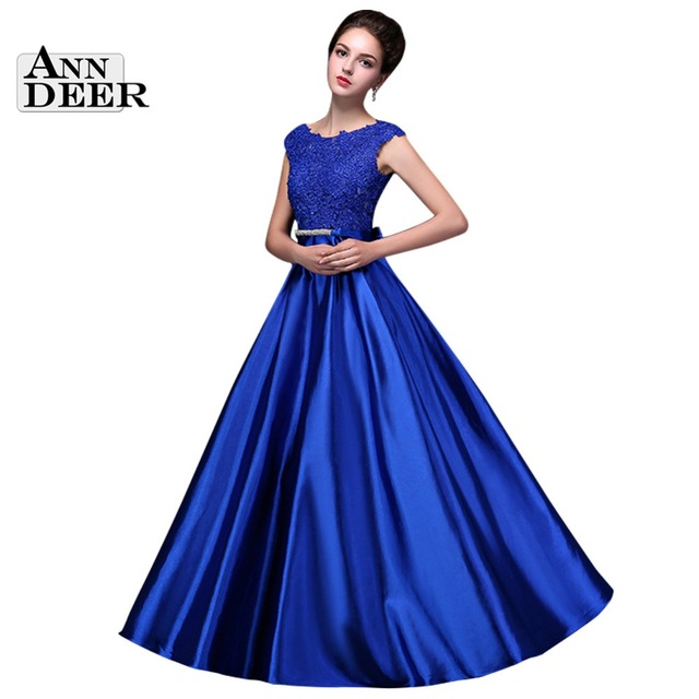 Aliexpress.com : Buy ANN DEER Vestido De Festa 2016 Sexy Open Back A Line Long Formal Evening Dresses Floor Length Gown Crystal Party Dress S306 from Reliable dress pakistan suppliers on Ann Deer