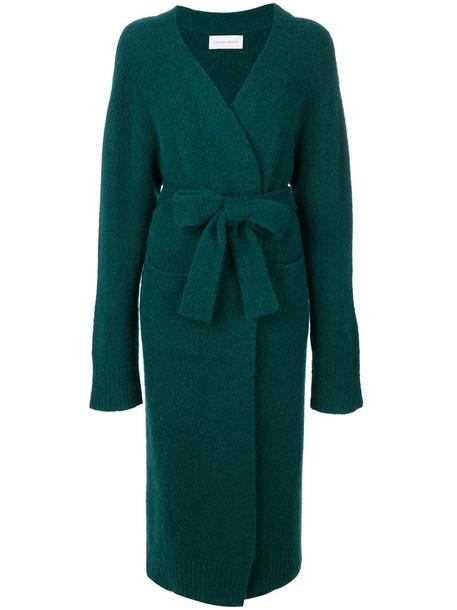 Christian Wijnants coat women spandex green