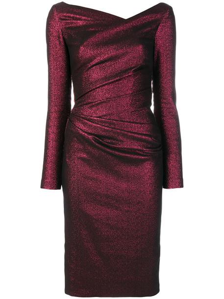 dress women spandex cotton red