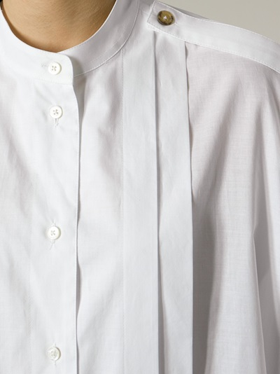 Vivienne Westwood Anglomania  Pleated Shirt - O' - Farfetch.com