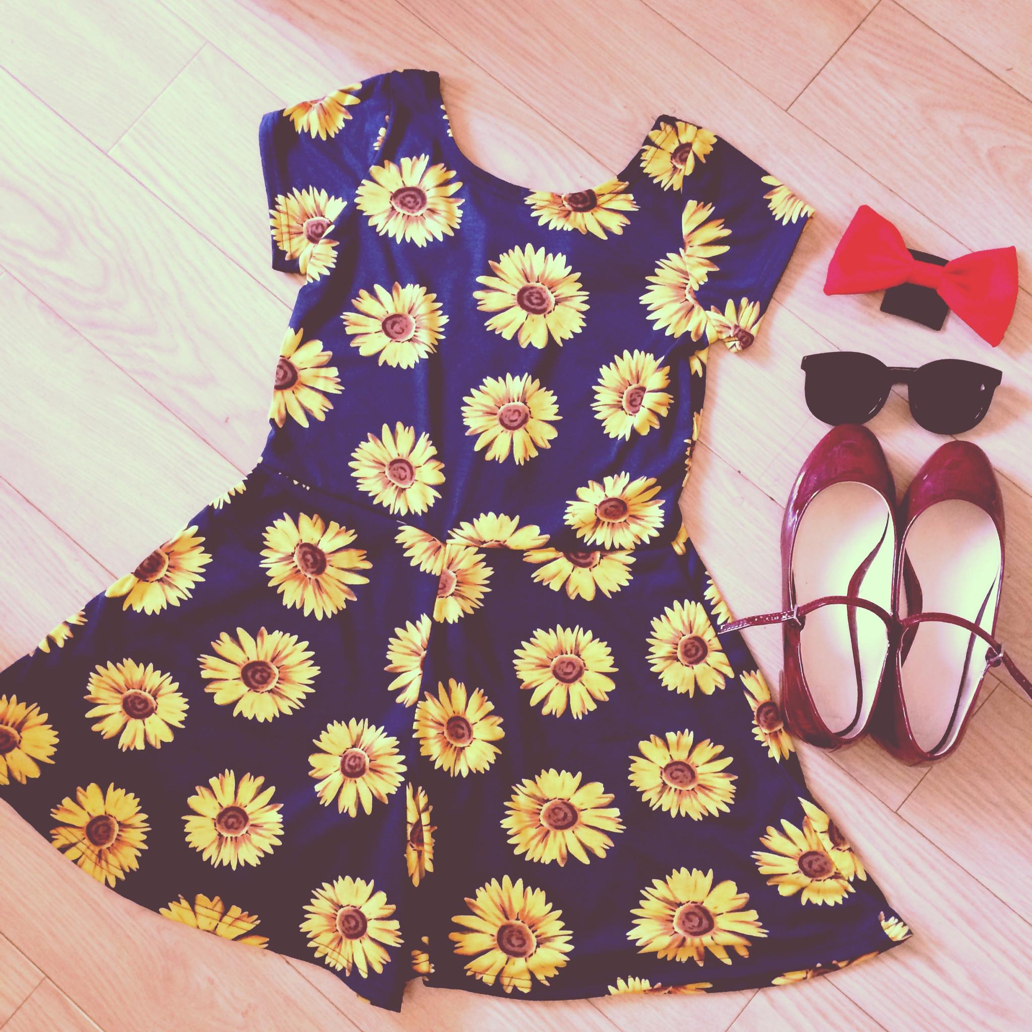 'sunflower child' playsuit – style valentine