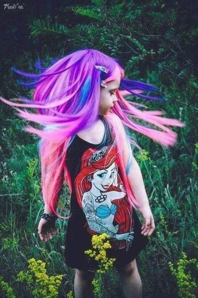 Punk Disney Little Mermaid Shirt The Little Mermaid Punk