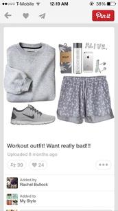 shorts,grey gray,gray.,chettah print,workout,sweater